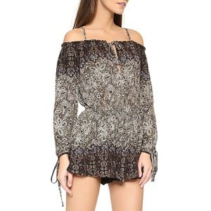 ✨ Free People So Divine Romper in Midnight Combo ✨